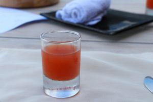 アイオープナーのジュース